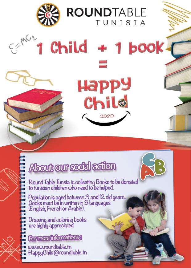 Happy Child Social Action RT Tunisia